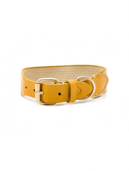 Buddys Halsband James Yellow