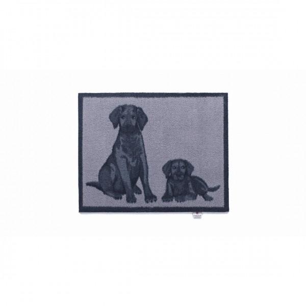 Hugrug Fussmatte two dogs