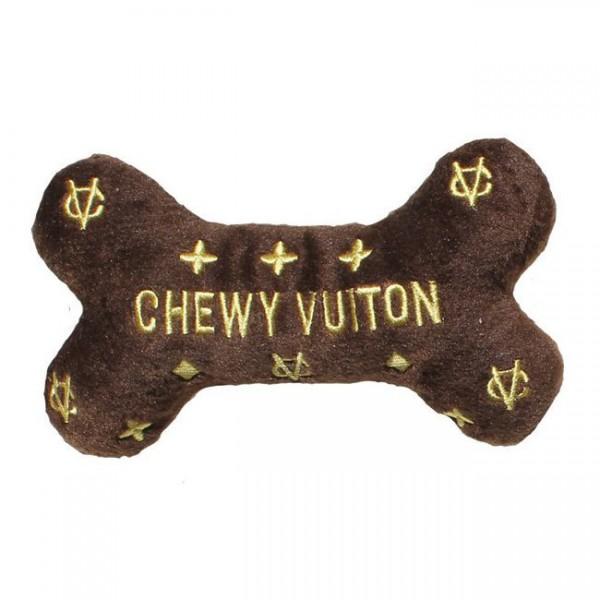 Hundespielzeug Plüsch Knochen Chewy Vuiton