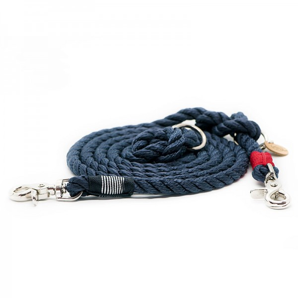 Q3N Verstellleine Sylter Strick Happy Sailor Blau