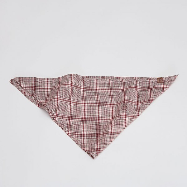 Cloud7 Bandana Check Red-Light Green