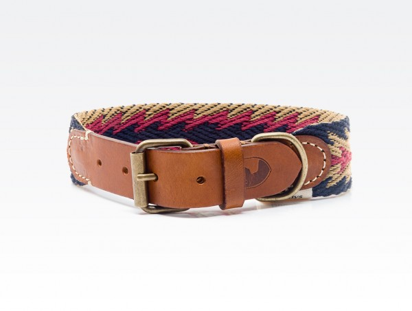 Buddys Halsband Peruvian Arrow Blue