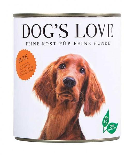 Dogs Love Nassfutter Pute