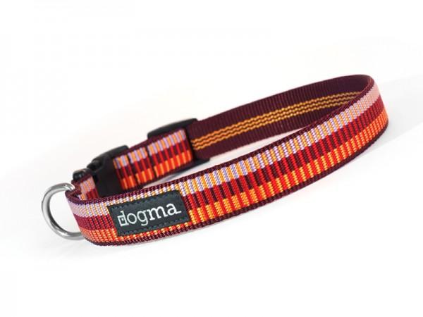 dogma Hundehalsband sunny beach rot-orange
