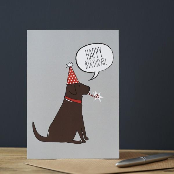 Sweet Williams Karte Geburtstag Labrador