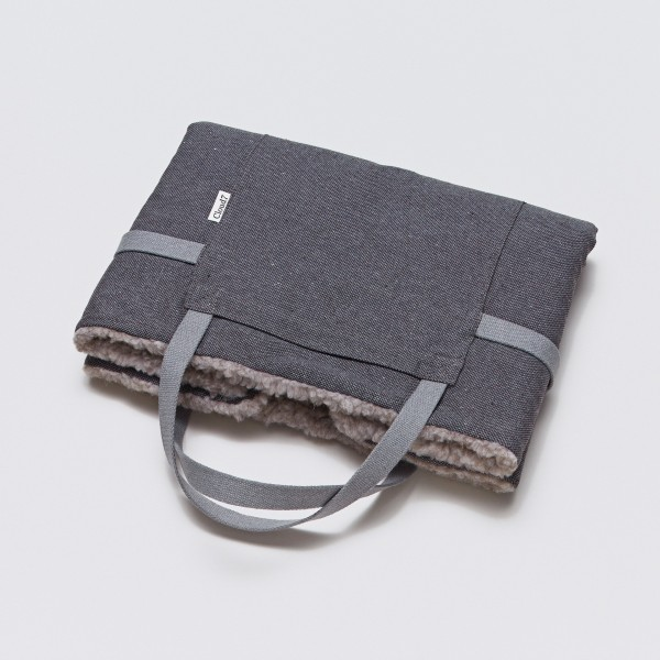 Cloud7 Travel Bed Tweed Taupe/Schafwolle