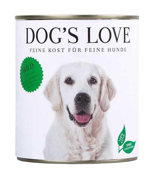 Dogs Love Nassfutter Wild