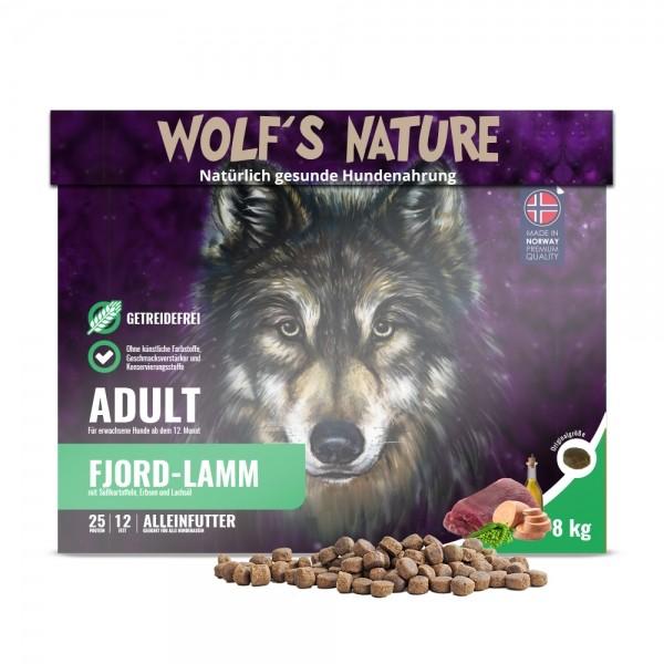 Wolf's Nature Trockenfutter Fjord Lamm