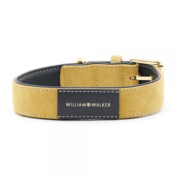 William Walker Wildleder Hundehalsband Midnight x Sun