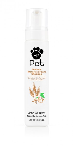 John Paul Pets Oatmeal Waterless Foam Shampoo