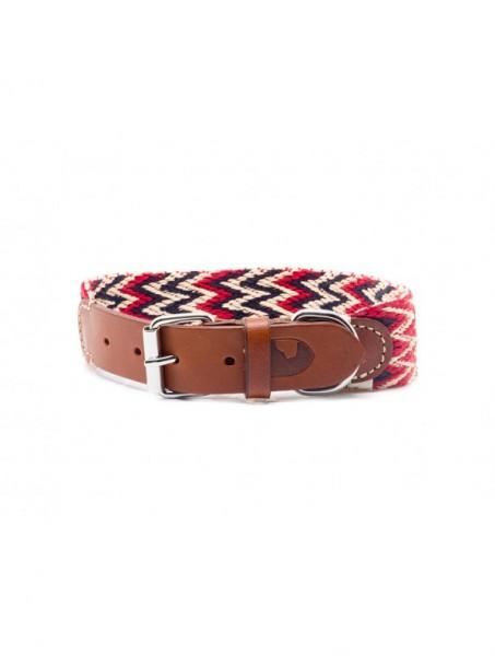 Buddys Halsband Peruvian Red