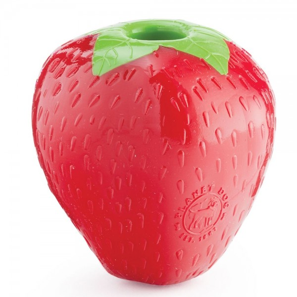 PlanetDog Kauspielzeug Orbee tuff Erdbeere
