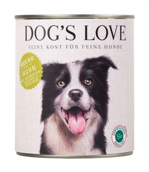 Dogs Love Nassfutter BIO Huhn