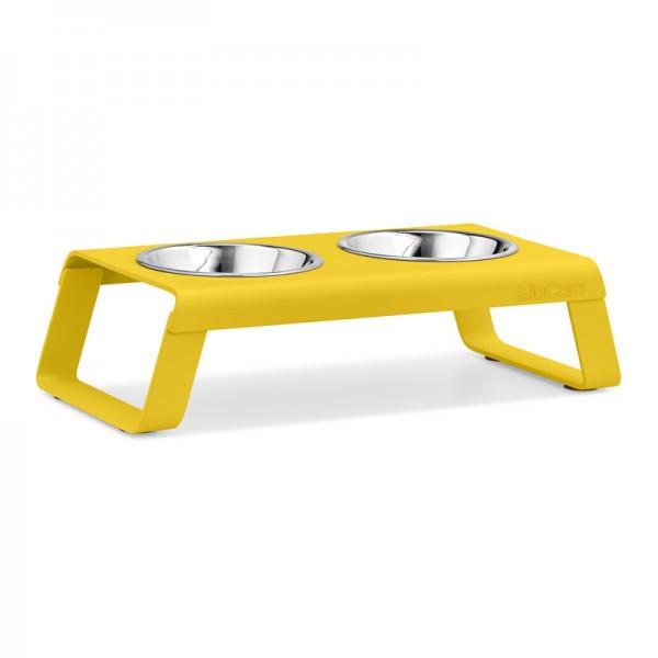 MiaCara Desco, Napfständer, pulverbeschichtet gelb