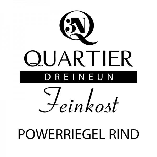 Q3N Feinkost Powerriegel Rind