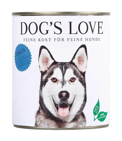 Dogs Love Nassfutter Fisch