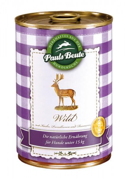 Pauls Beute Nassfutter Wild