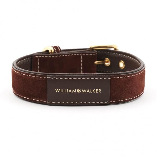 William Walker Hundehalsband Wildleder Makassar