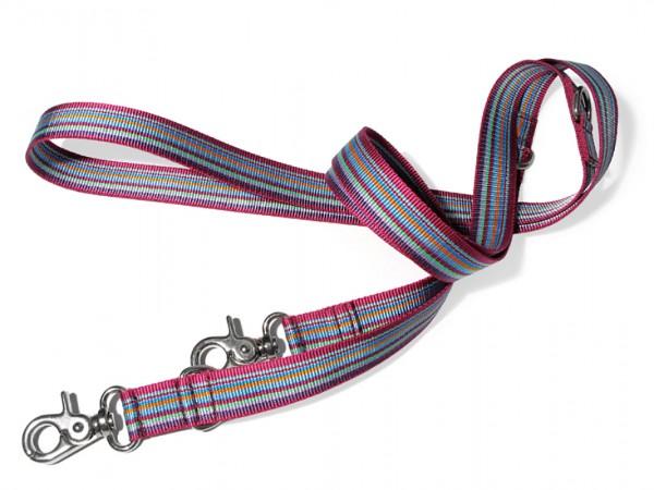 dogma Verstellleine stripes lilabunt
