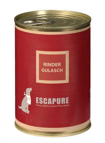 Escapure Nassfutter Rinder Gulasch