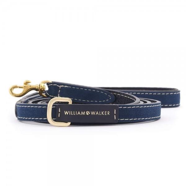 William Walker Führleine Wildleder Midnight Small