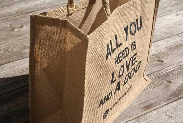 "Treusinn Eco Shopper Jute ""All you need"""