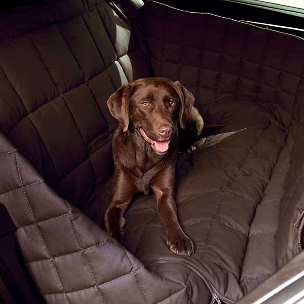 Doctor Bark 3-Sitz Autodecke Braun