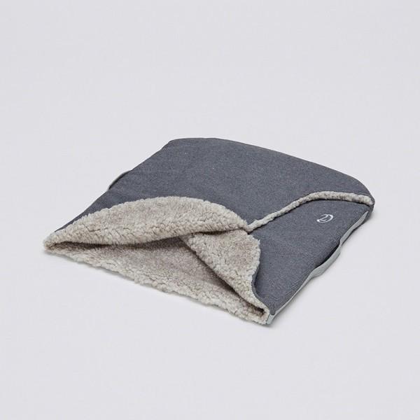 Cloud7 Hundeschlafsack Nest Tweed Taupe