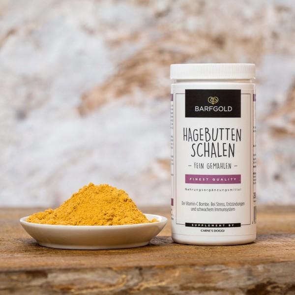 Barfgold Nahrungsergänzung Hagebuttenschalen