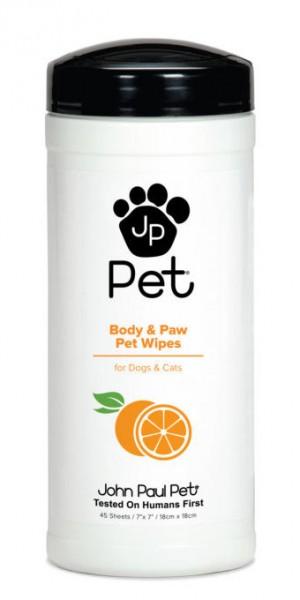John Paul Pets Körper- & Pfotentücher, 45 St