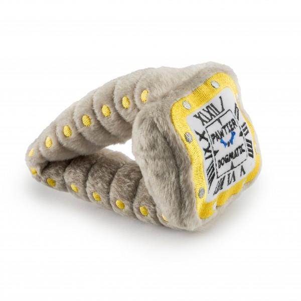 Hundespielzeug Plüsch Pawtier Armbanduhr