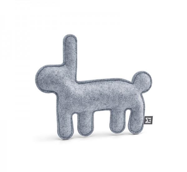 MiaCara Hundespielzeug Bosco, Hase grau
