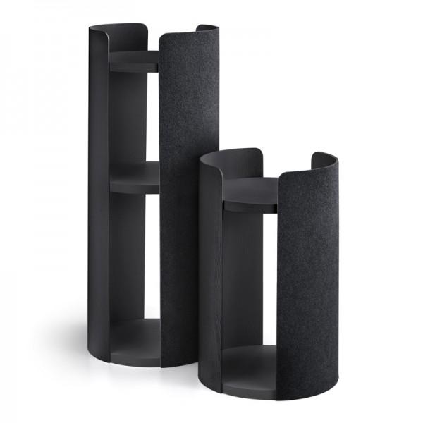 MiaCara Torre, Esche schwarz gebeizt, Filz schwarz