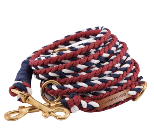 William Walker Paracord Hundeleine Royal
