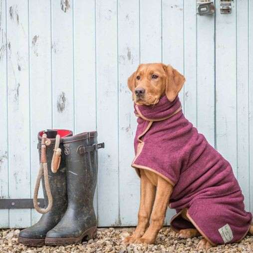 Ruff and Tumble Hundebademantel Country Collection