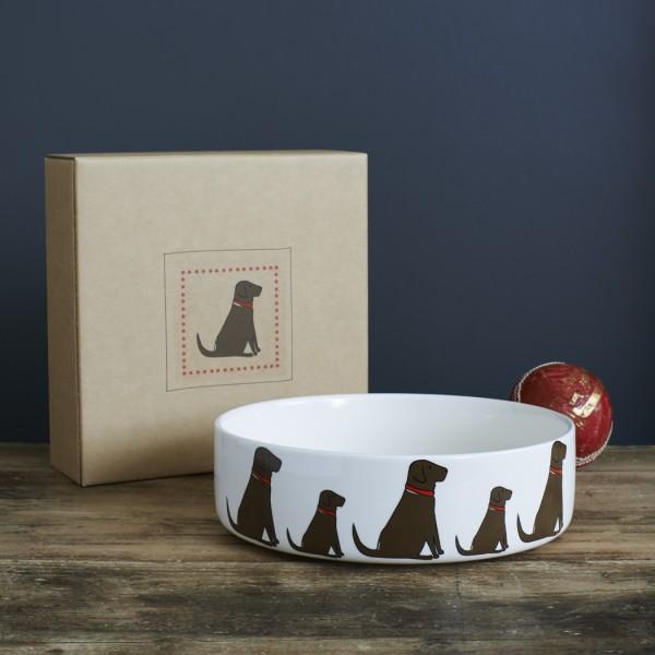 Sweet Williams Hundenapf Labrador Braun