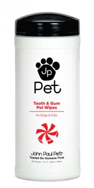 John Paul Pets Zahn- & Zahnfleischtücher