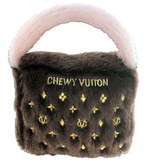 Hundespielzeug Plüsch Tasche Chewy Vuiton