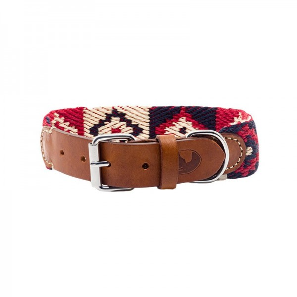 Buddys Halsband Peruvian Indian Red