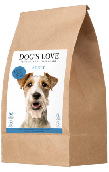 Dogs Love Trockenfutter Lachs & Forelle