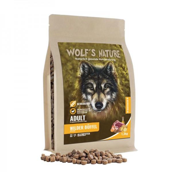 Wolf's Nature Trockenfutter Wilder Büffel