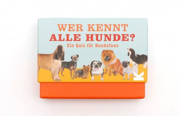 Wer Kennt alle Hunde? Quiz