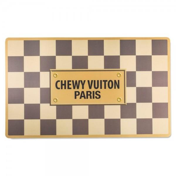 Napfunterlage Chewy Vuiton braun