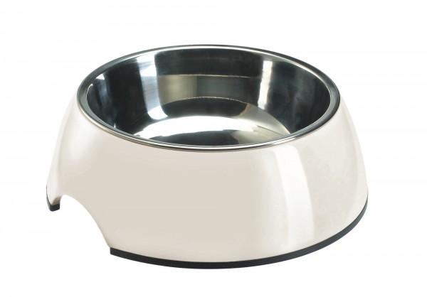 Melamin Hundenapf Weiss