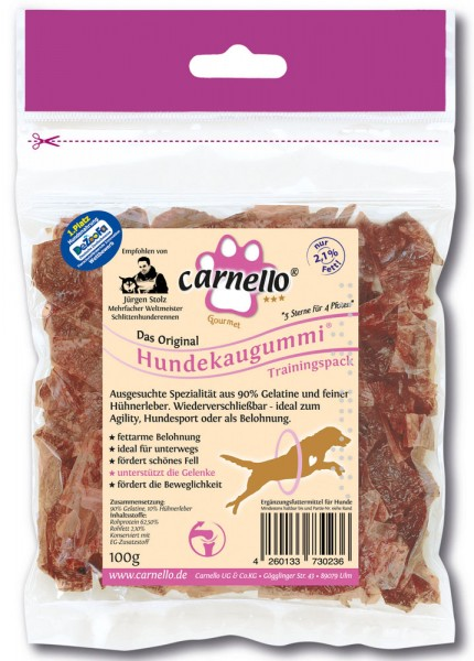 Carnello Hundekaugummi Trainingspack