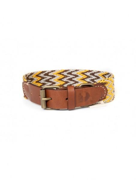 Buddys Halsband Peruvian Gold