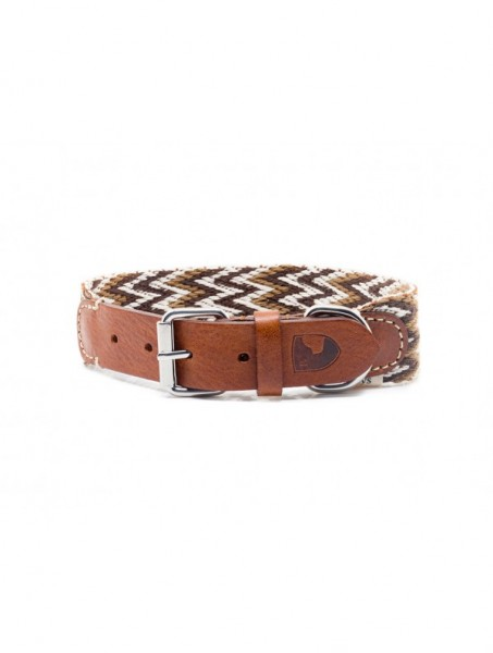 Buddys Halsband Peruvian Brown