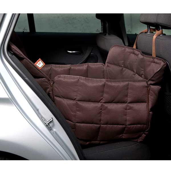 Doctor Bark Autodecke Rücksitz 1-Sitz Braun