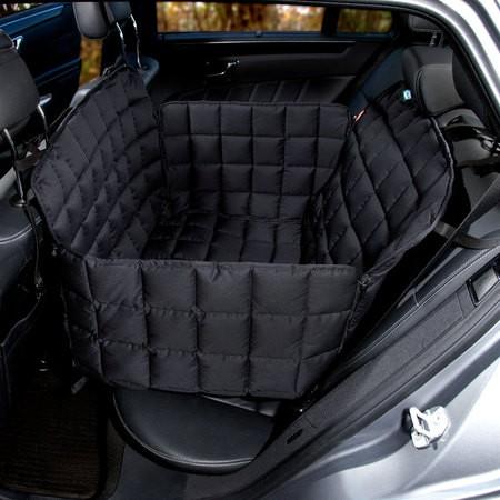 Doctor Bark Autodecke Rücksitz 2-Sitze Schwarz