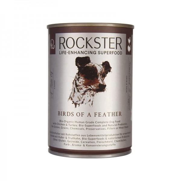 Rockster Nassfutter Huhn/Pute 'birds of a feather'